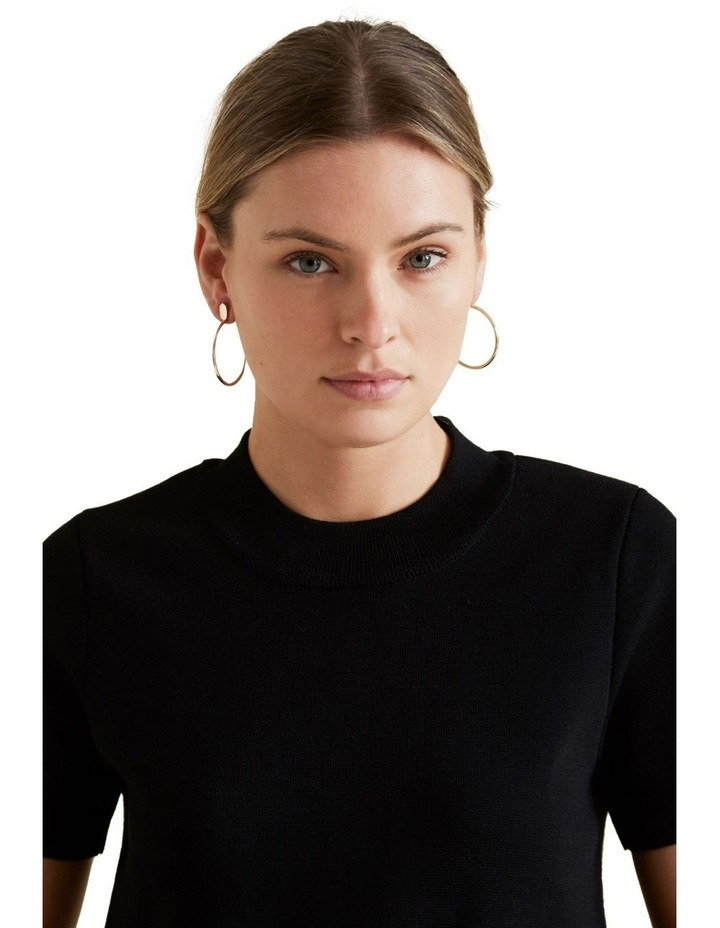 Curved Earrings image 2