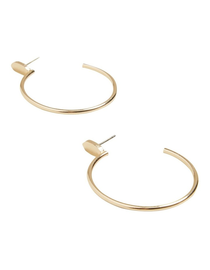 Curved Earrings image 3