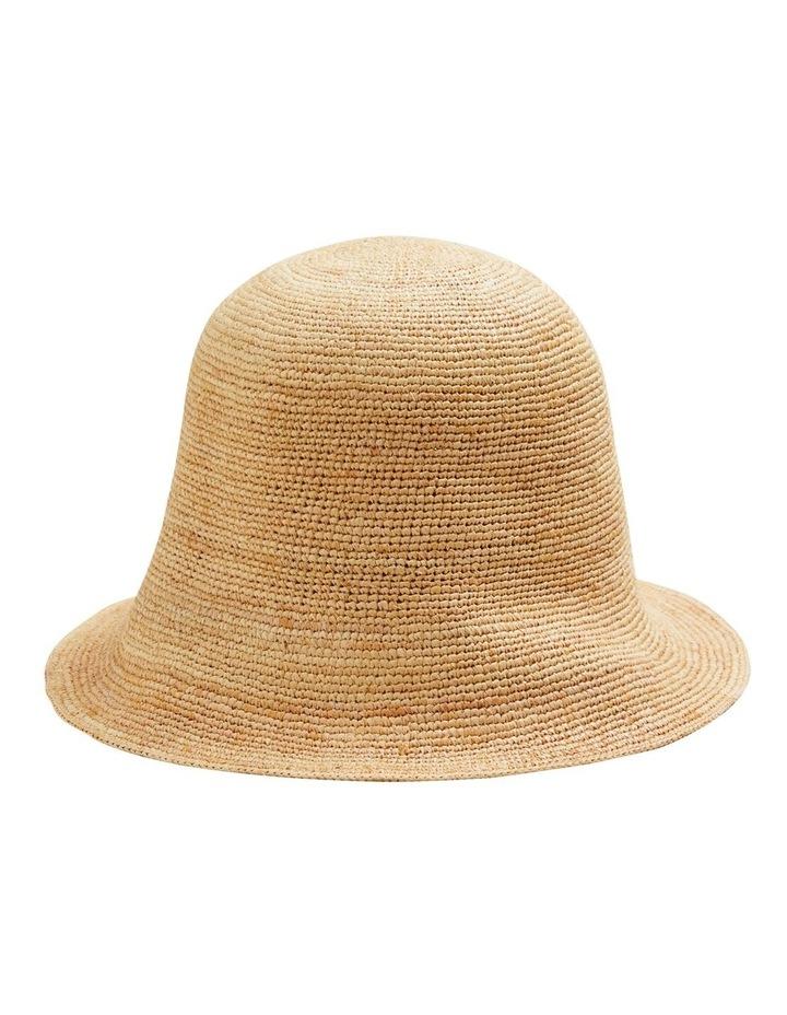 Raffia Bucket Hat image 2