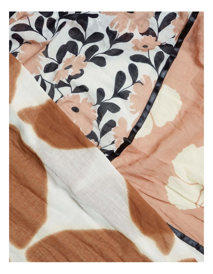 Patchwork Floral Scarf image 3
