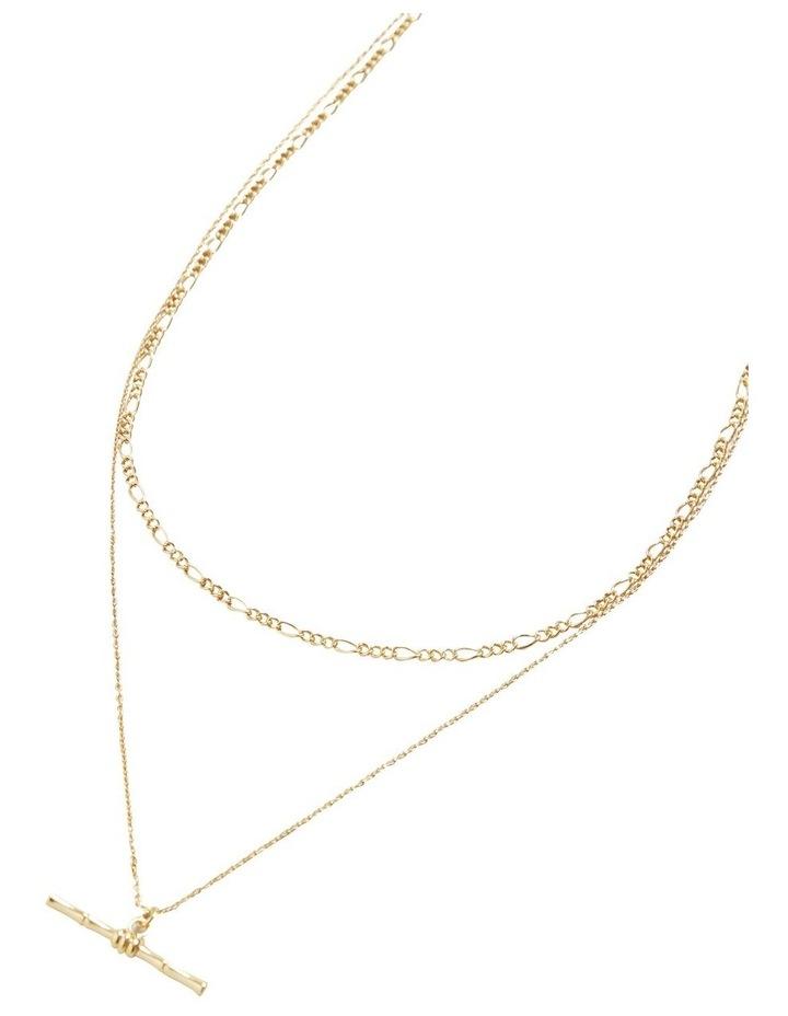 Fine T Bar Necklace image 3