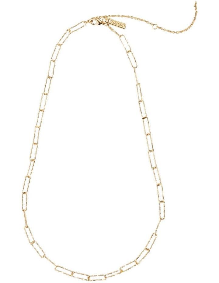 Fine Wide Chain Necklace image 1
