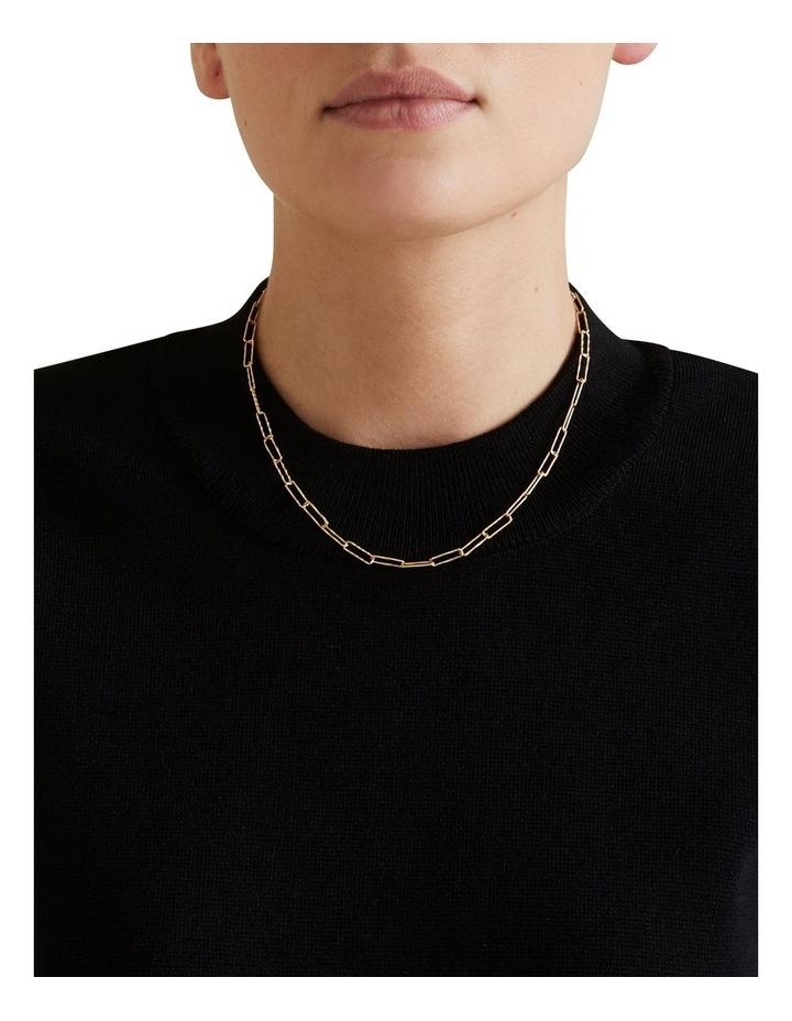 Fine Wide Chain Necklace image 2