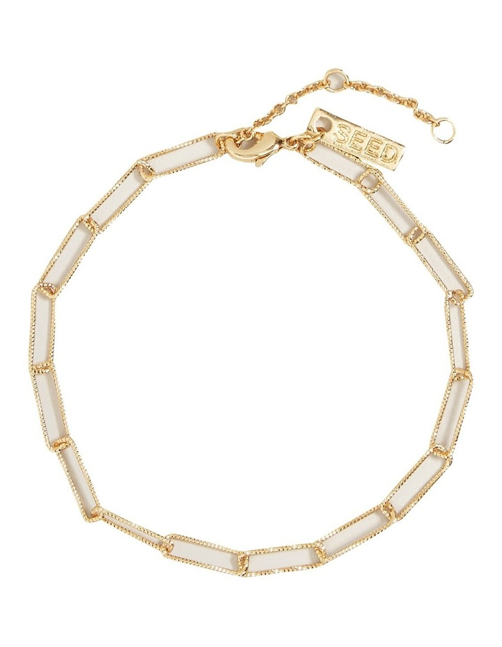 Fine Wide Chain Bracelet image 1