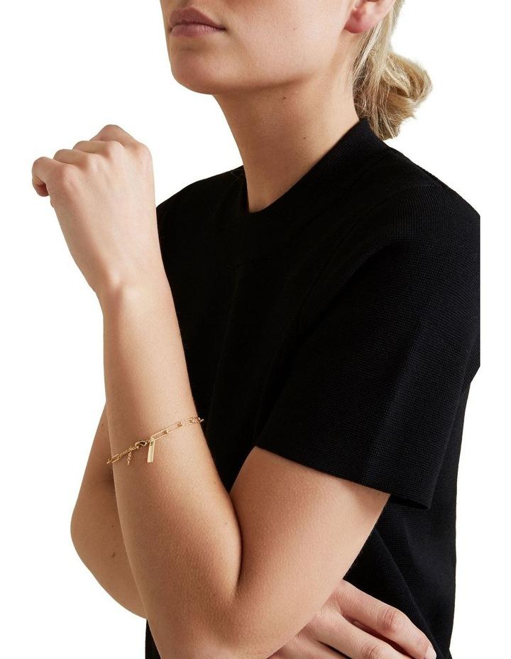 Fine Wide Chain Bracelet image 2