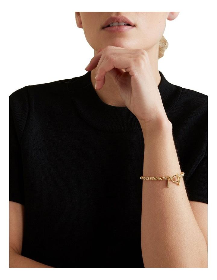 Fine T Bar Bracelet image 1