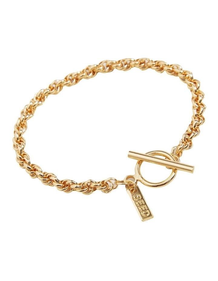 Fine T Bar Bracelet image 2