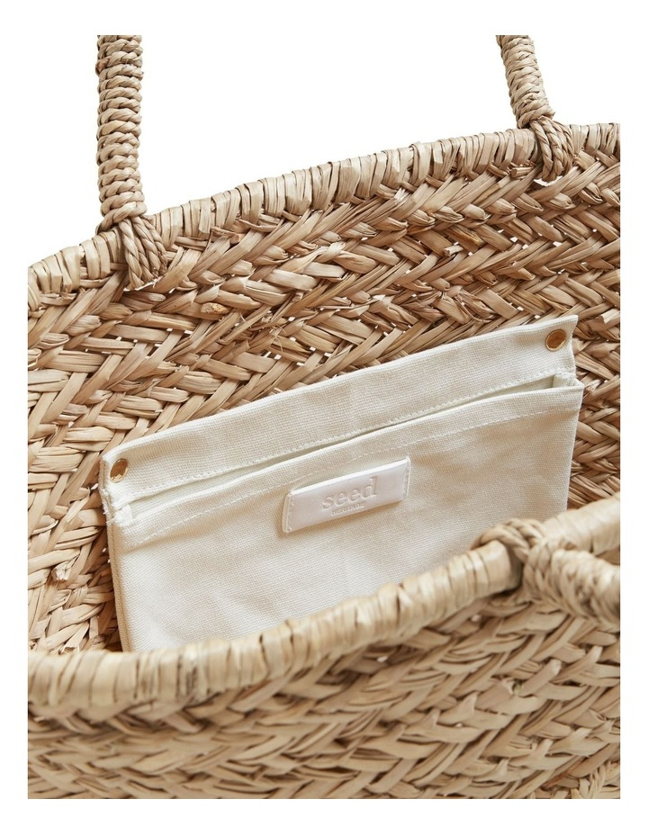 Seed Straw Tote image 4