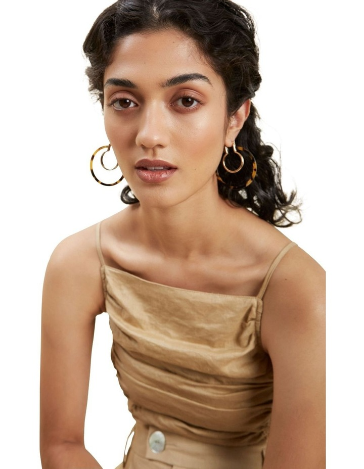 Double Layered Tort Hoops image 2