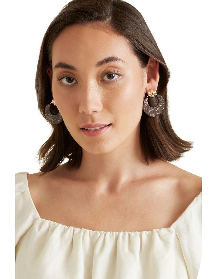 Door Knocker Resin Earrings image 2