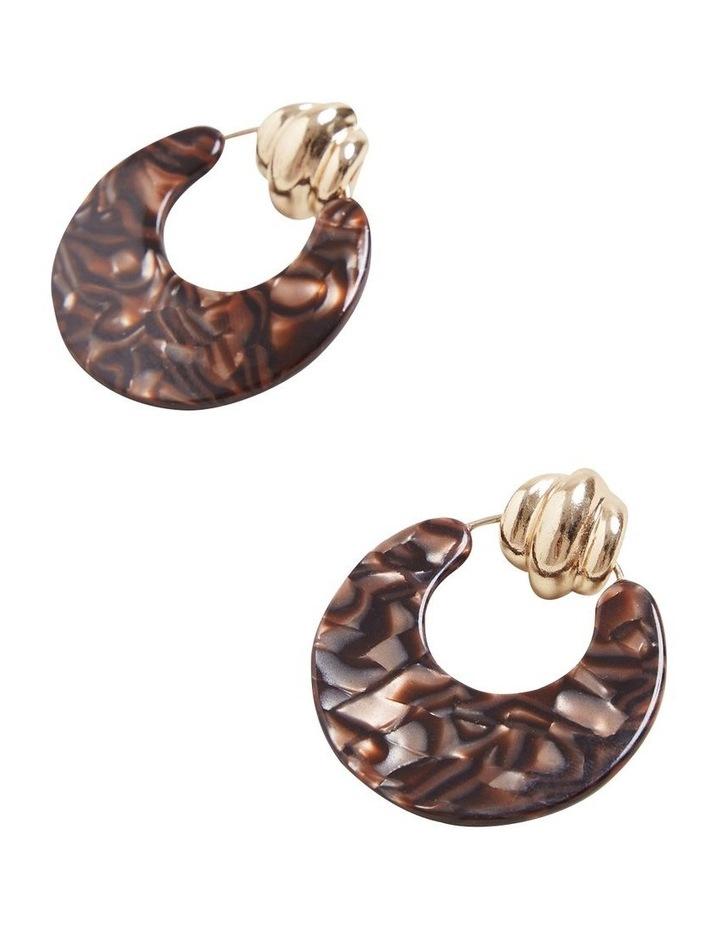 Door Knocker Resin Earrings image 3