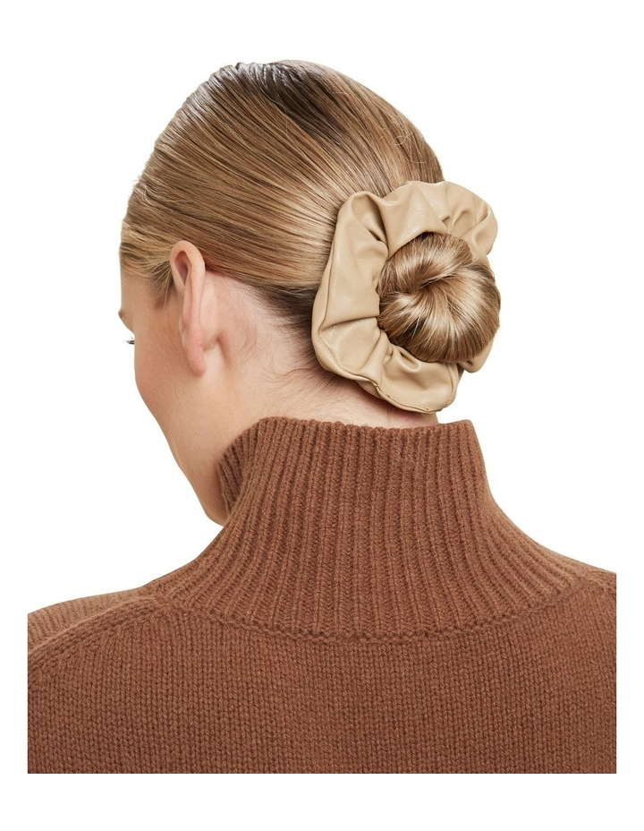 Leather Look Scrunchie image 2