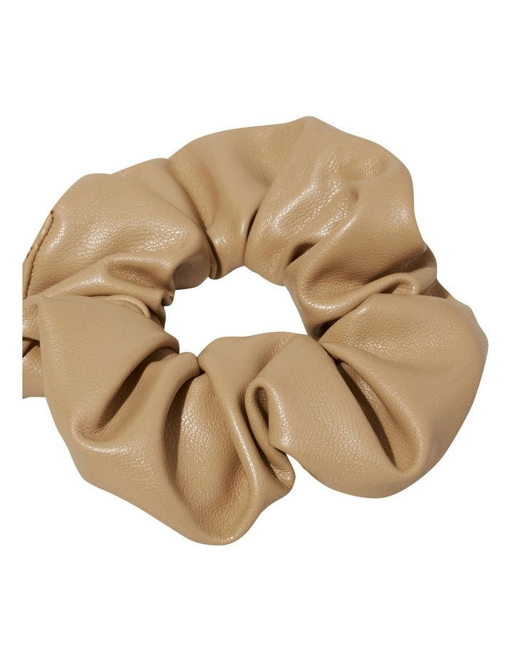 Leather Look Scrunchie image 3