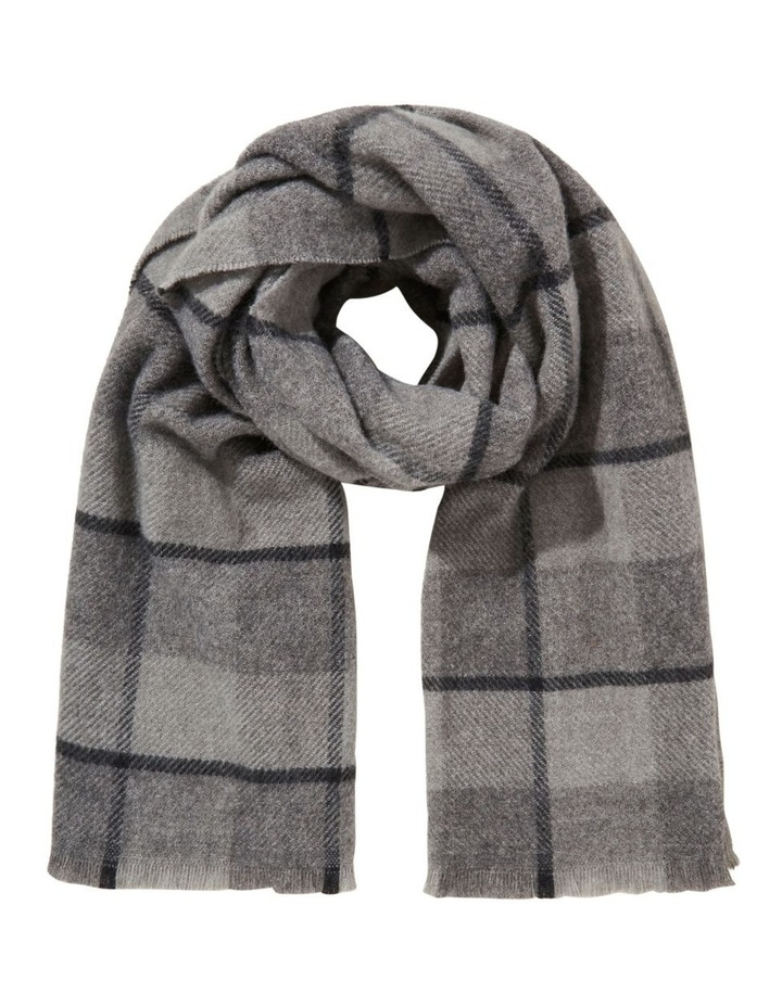 Wool Check Scarf image 1