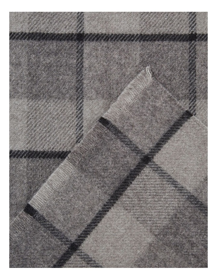 Wool Check Scarf image 3