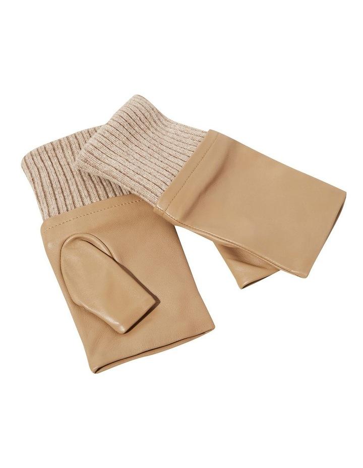 Leather Fingerless Gloves image 3