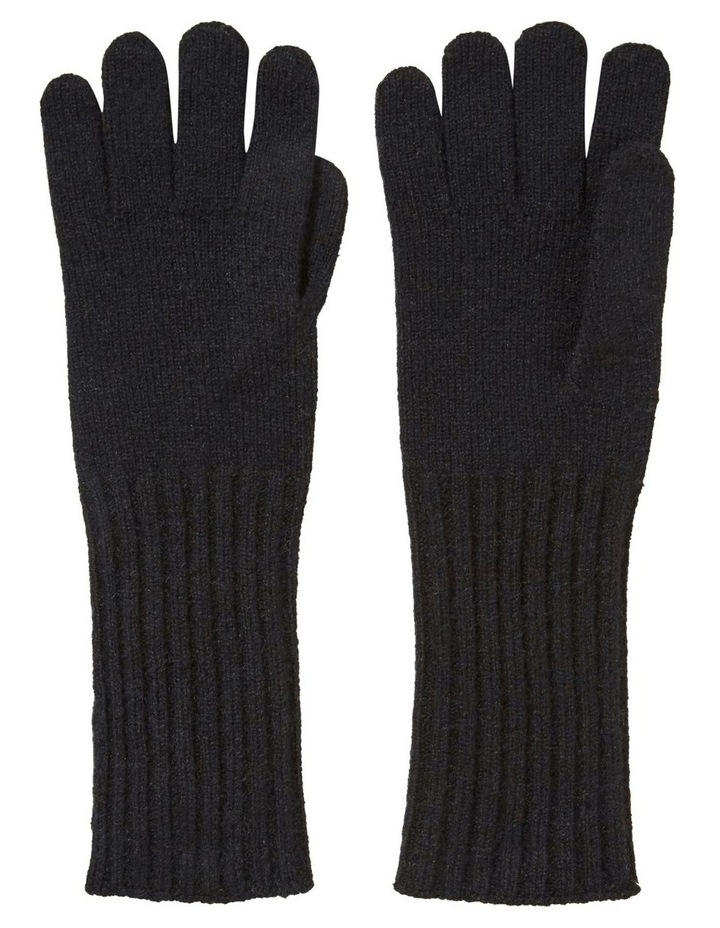 Rib Knit Gloves image 1