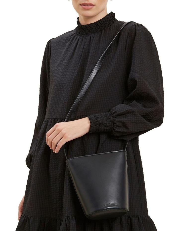 Mini Leather Bucket Bag image 2