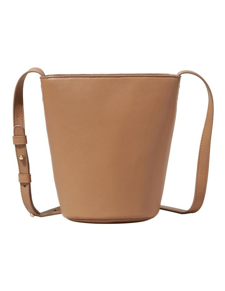 Mini Leather Bucket Bag image 1