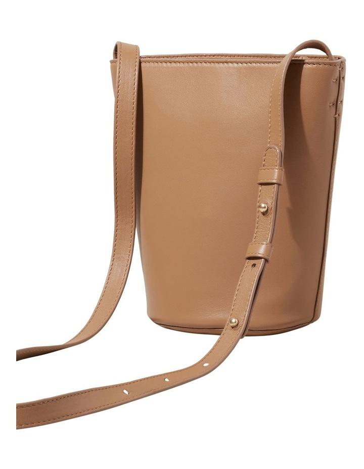 Mini Leather Bucket Bag image 3