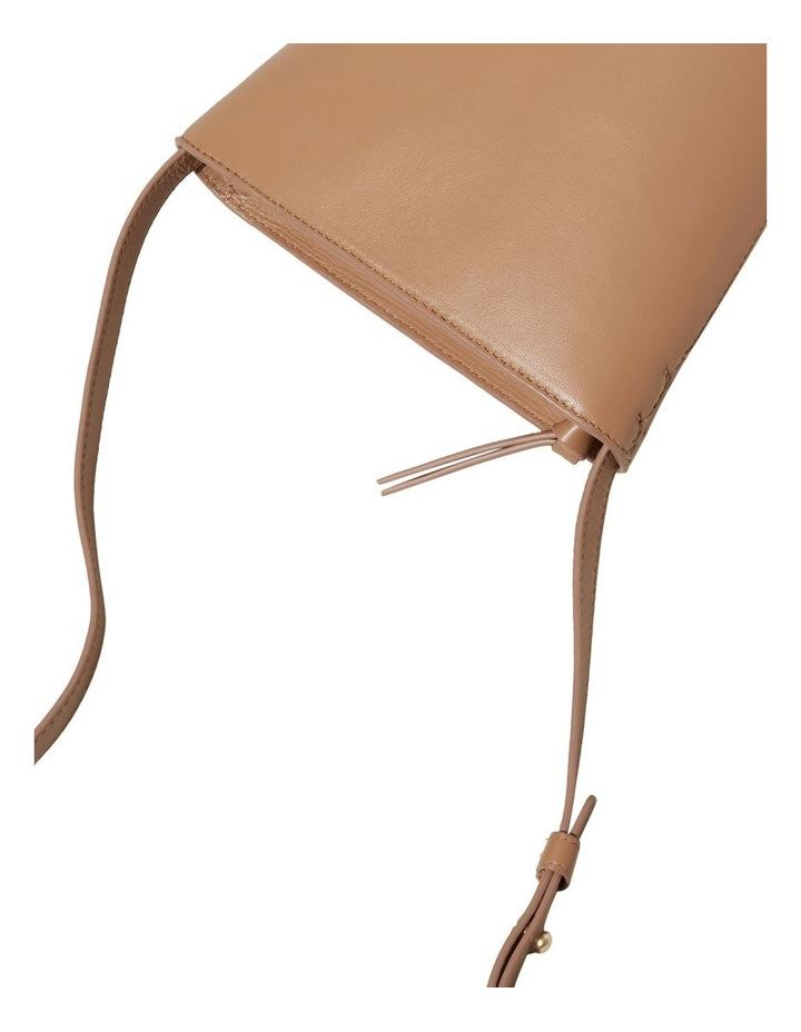 Mini Leather Bucket Bag image 4