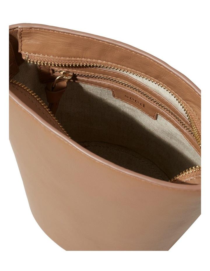 Mini Leather Bucket Bag image 5
