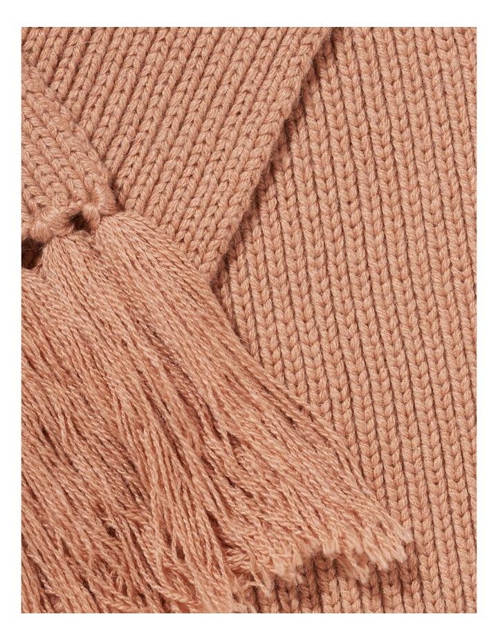 Rib Knit Scarf image 3