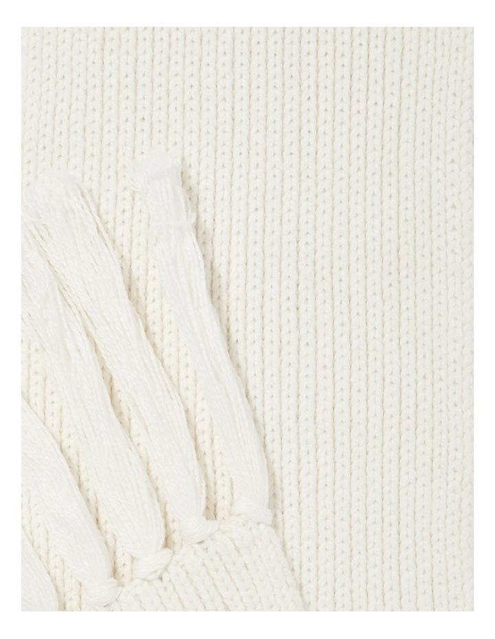 Rib Knit Scarf image 1