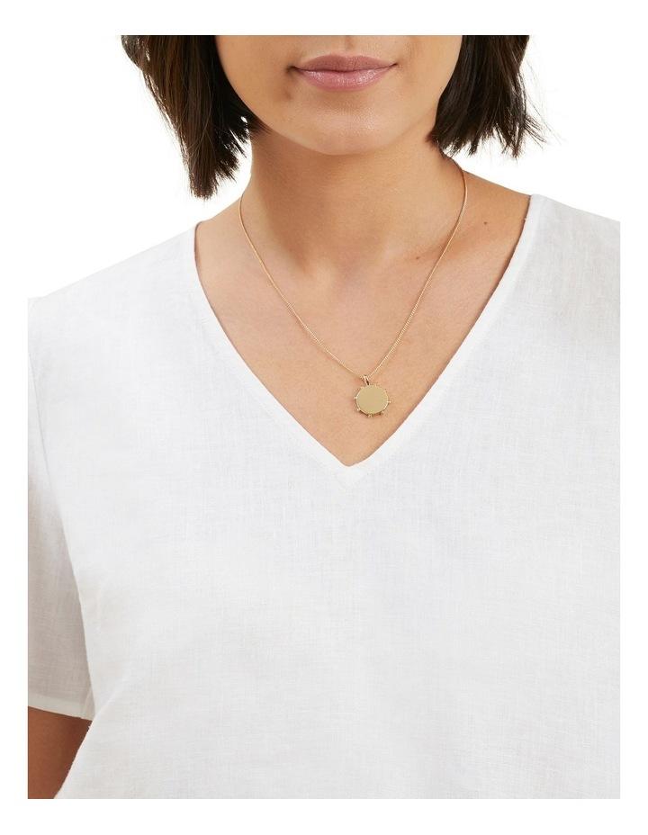 Studded Pendant Necklace image 2