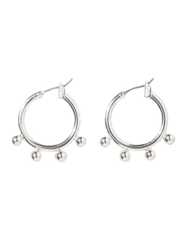 Studded Hoop Earrings image 1