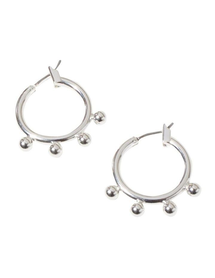 Studded Hoop Earrings image 2