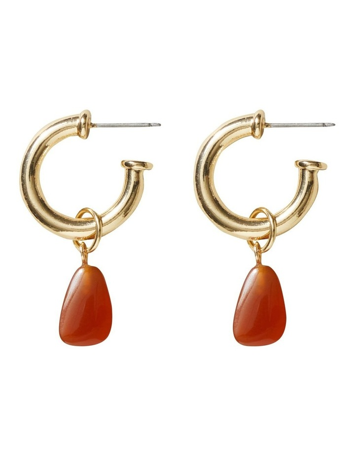 Stone Drop Earrings image 1