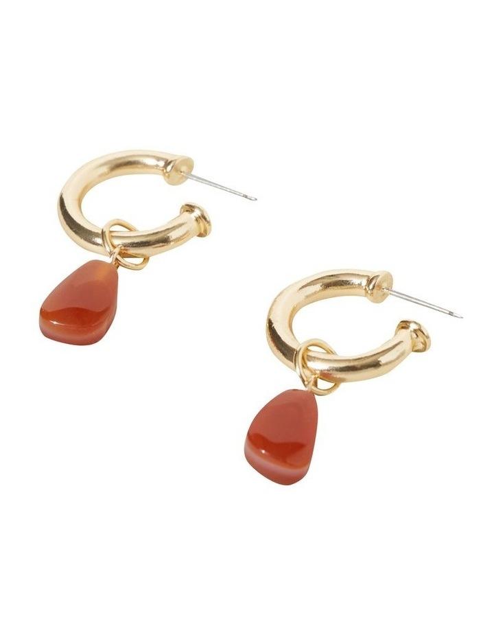 Stone Drop Earrings image 3