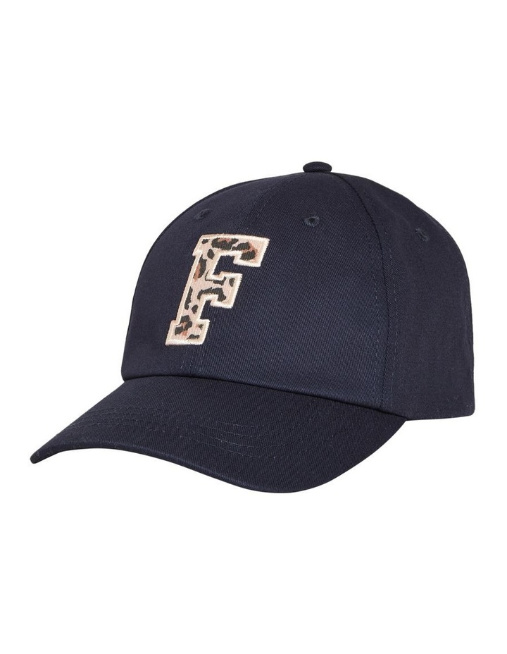 Tonal 'f' Embroidered Cap image 1