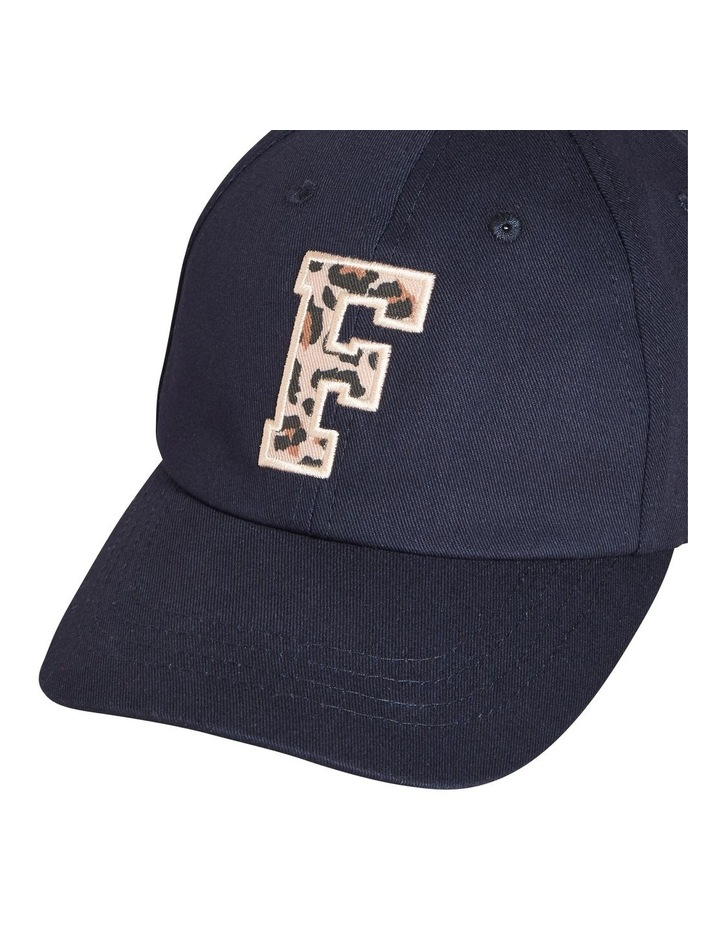 Tonal 'f' Embroidered Cap image 4