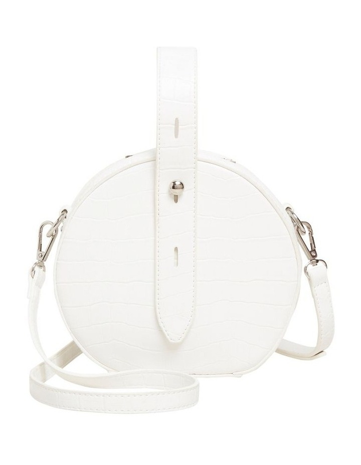 Croc Embossed Circle Bag image 1