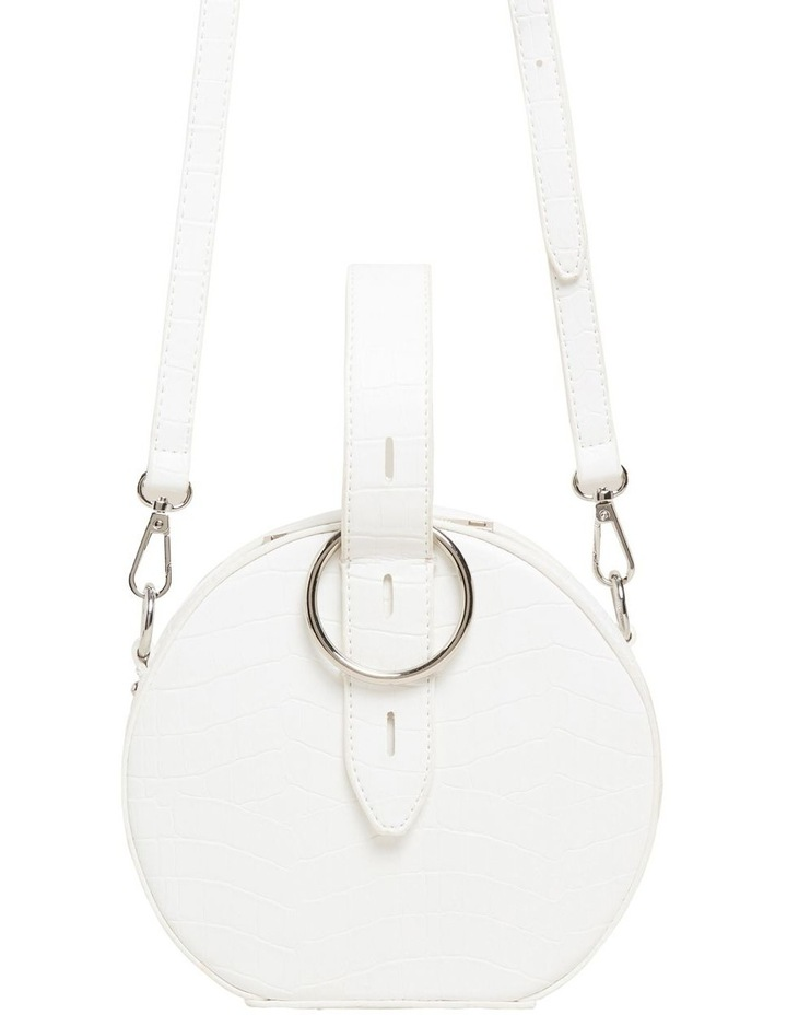 Croc Embossed Circle Bag image 3