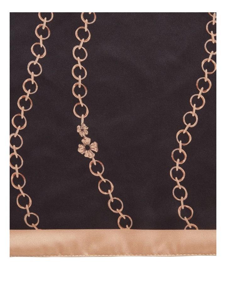 Chain Print Scarf image 3