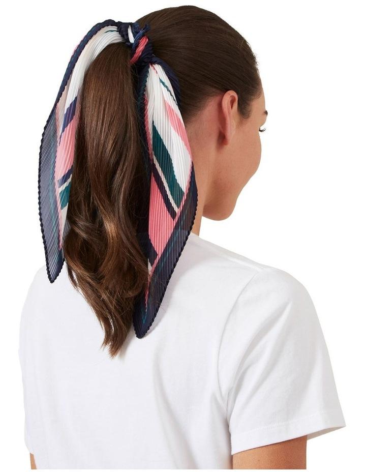 Stripe Pleated Scarf image 2