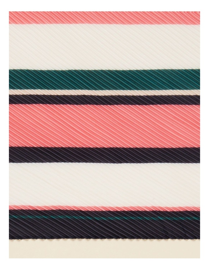 Stripe Pleated Scarf image 3