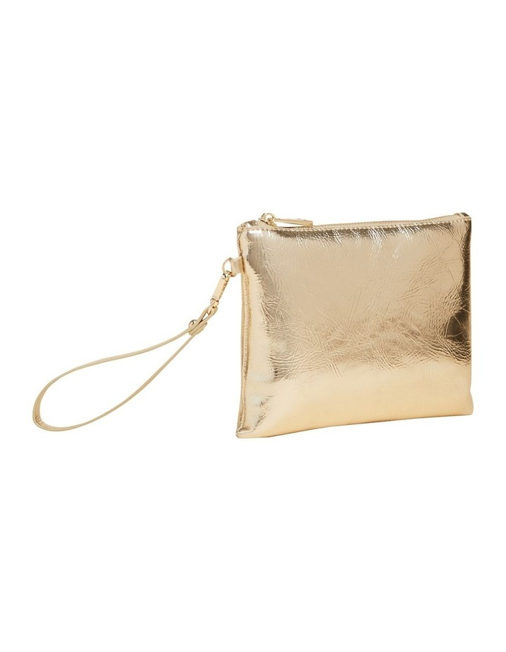 Gold Metallic Pouch image 2