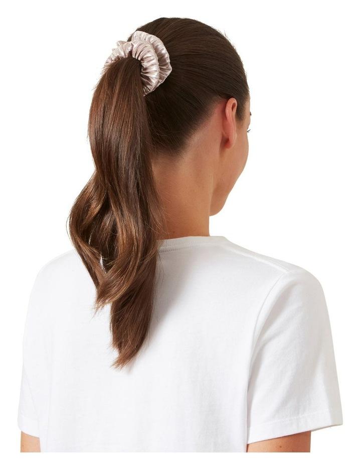 Metallic Hair Scrunchies Set image 3