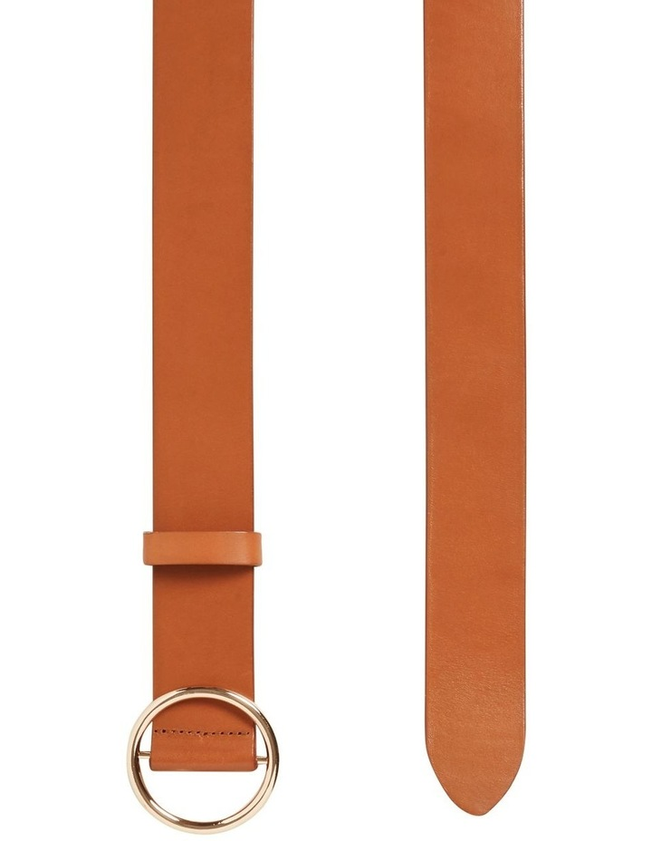 Circle Leather Belt image 3