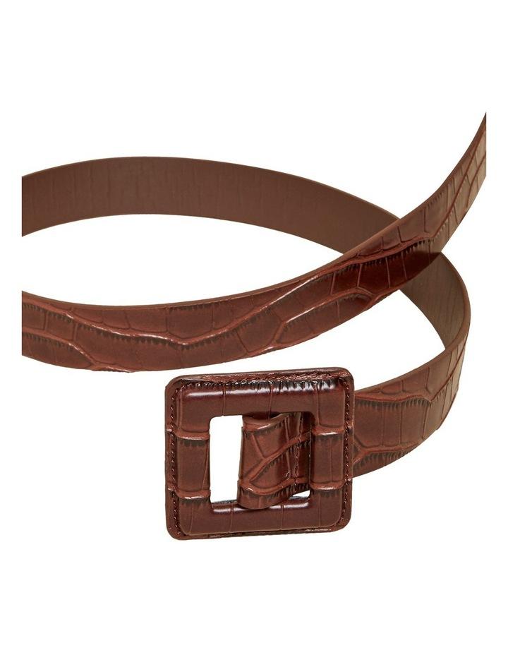 Tonal Embossed Belt image 3