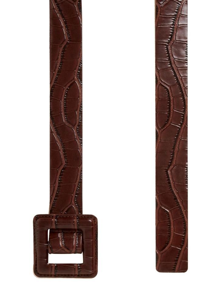 Tonal Embossed Belt image 4