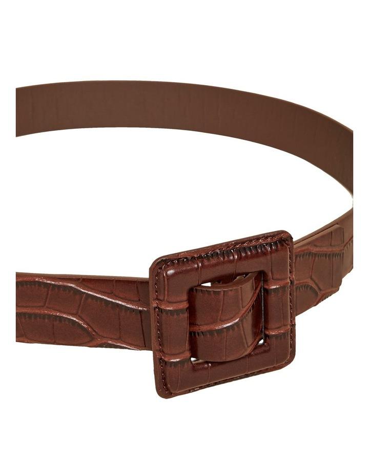 Tonal Embossed Belt image 5