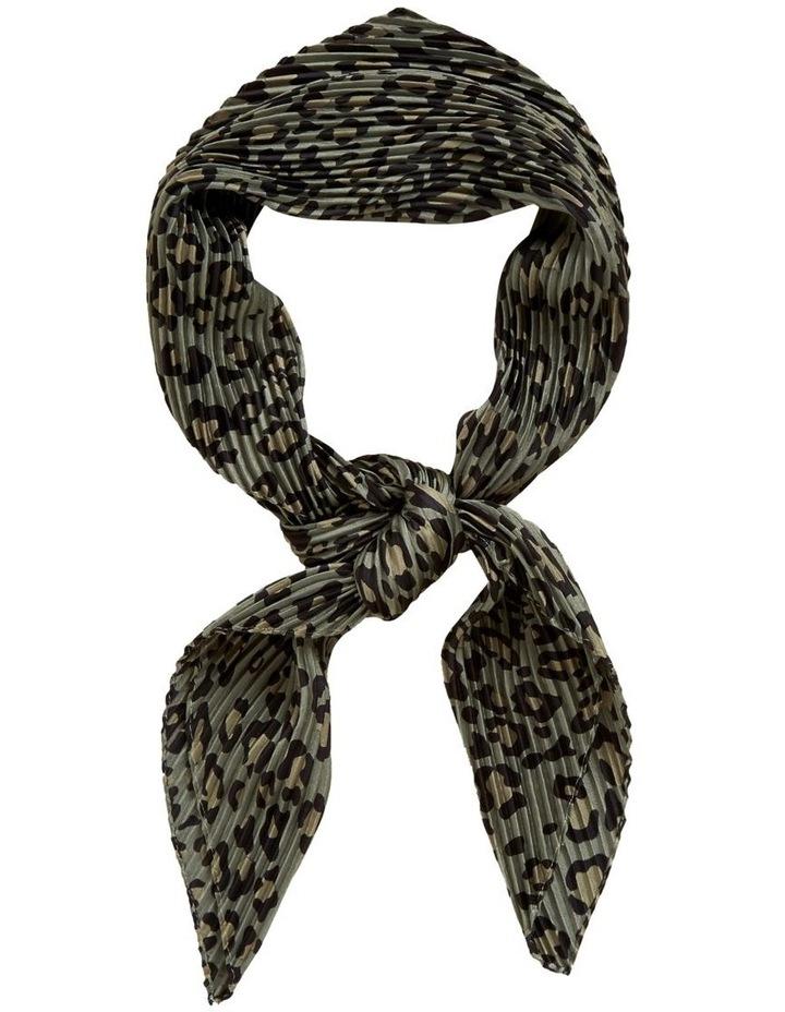 Animal Pleated Scarf image 1