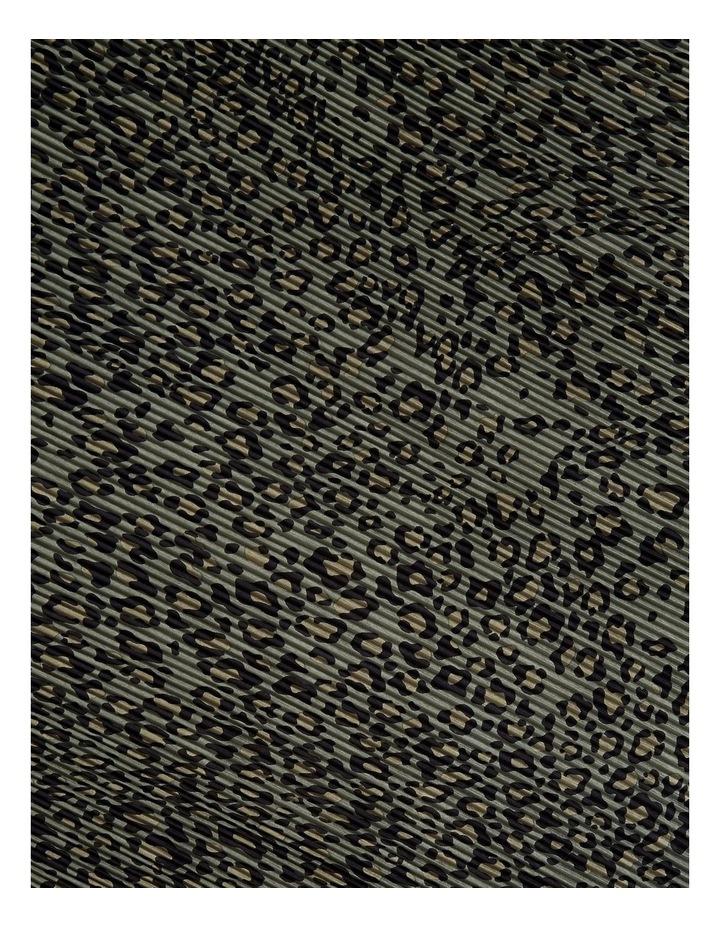 Animal Pleated Scarf image 3