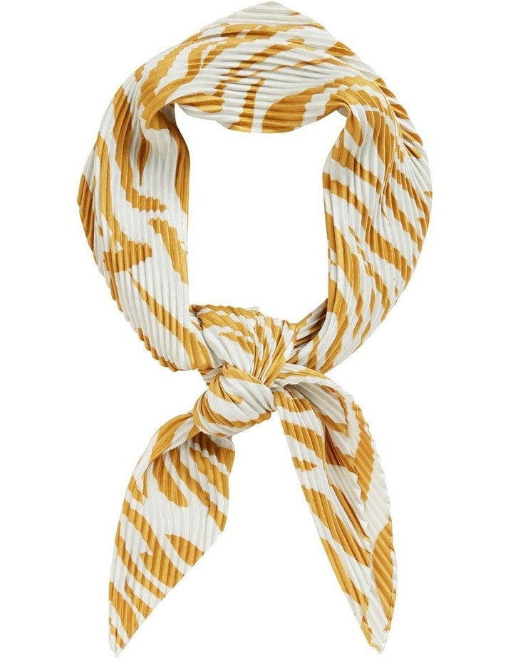 Tiger Pleated Scarf image 1