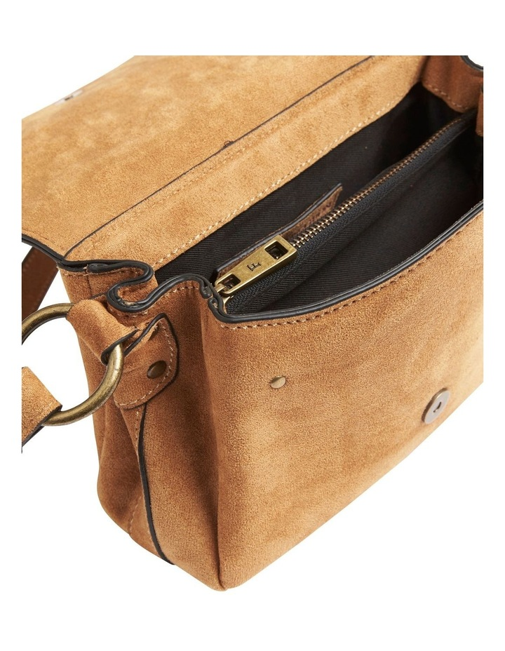 Sueded Cross Body Bag image 4